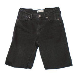 Madewell Jeans High Riser Skinny 26 EUC Black